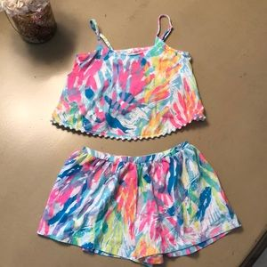 Girls Lilly Pulitzer two piece